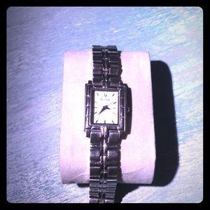 Bulova Silver-tone woman's watch